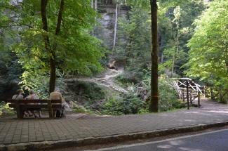 Holzbrücke-Mullerthal-Cascad
